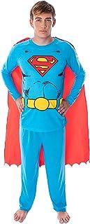 DC Comics Men's Superman Classic Superhero Costume Raglan...