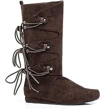 Ellie Shoes E-011-Forest 0 Heel Children Microfiber Boot