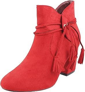 Mochi Women Black Synthetic Boots (31-8208)