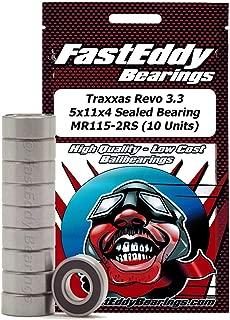 FastEddy Bearings Traxxas Revo 3.3 5x11x4 Sealed Bearing MR115-2RS (10 Units)