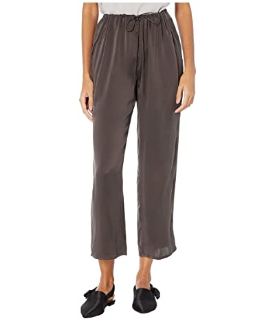 Skin Tilda Silk Pants (Noir) Women