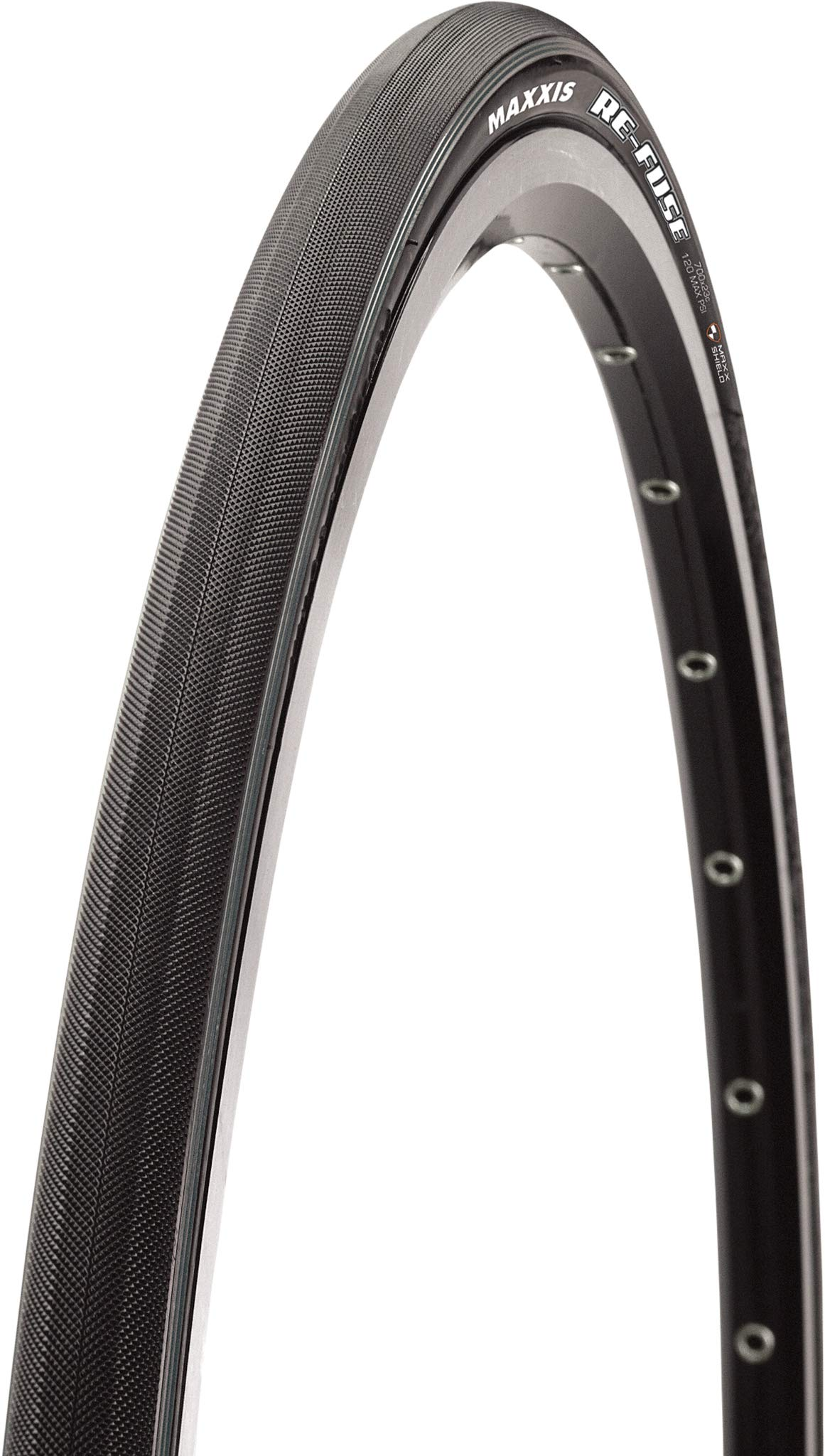 Maxxis Re-Fuse Folding Clincher Tyre Black MaxxShield//TR 60 TPI 700 x 40mm