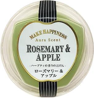 ペリカン石鹸 オーラセント クリアソープ ローズマリー&アップル 75g