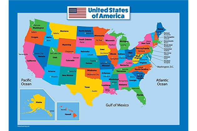 Georgia Map For Kids.Best Usa Map For Kids Amazon Com