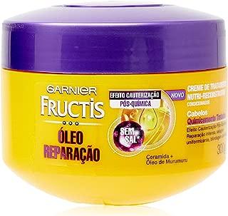 Creme de Tratamento Fructis Óleo Reparação Pós Química, 300G, Garnier
