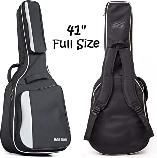 Acoustic and Classical Guitars Gig Bag Full Size (41 inch) by Hola! Music, Deluxe Series..