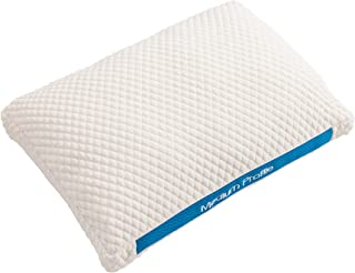 Boschettu Breathable Medium Profile Pillow for Back and Stomach Sleepers, Mesh for Breathability. Fiber Filled for The Softest Support