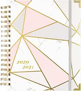 "2020-2021 Planner - Academic Weekly & Monthly Planner with Gift Box, from Jul 2020 - Jun 2021 Thick Paper, 8"" x 10"", Back Pocket with 15 Notes Pages + 12 Academic Monthly Tabs"