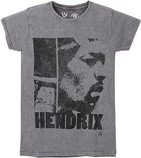 JIMI HENDRIX ジミヘンドリックス (WOODSTOCK 50周年記念) - LET ME LIVE/Black Label(ブランド) / Tシャツ/レディース 【公式/オフィシャル】