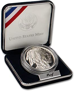 2001 P Commemorative Buffalo 90% Proof Silver Dollar in OGP
