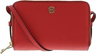 Tory Burch Women's Parker Double-Zip Mini Bag Leather Cross Body