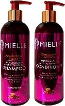 Mielle Pomegranate & Honey Moisturizing/Detangling Shampoo and Conditioner SET (12 fl. oz Each)