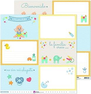 Anita y Su Mundo Collection Notre petit papier de scrapbooking, papier, grandes cartes, 30,5 x 30,5 cm