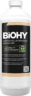 BiOHY Détartrage des Machines à café entièrement automatiques (Bouteille de 1l) | Environ 20 opérations de détartrage (Kaf...