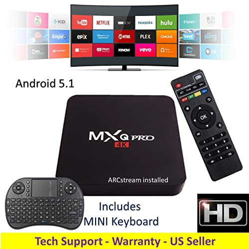 Android Movie Box with Kodi: Amazon com