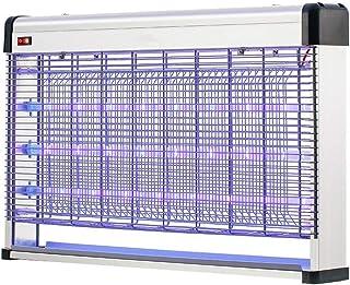 Lámpara eléctrica for Matar Mosquitos, atrae la luz UV for Matar Insectos, Quita Insectos, se Puede Montar en la Pared, suspendido o en Techo, 15/20 / 28W