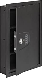 SnapSafe In Wall Safe, Electronic Hidden LED Home Security Safe, Measures 16.25