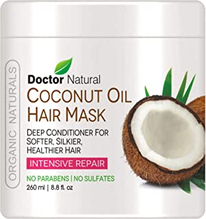 Doctor Natural Coconut Oil Hair Mask Deep Conditioner 8.8 Fl. Oz