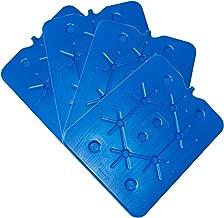 12 x 200 m Plat Glace Compresses 11 x 16,5 x 1,5 cm Les Blocs réfrigérants Glacière