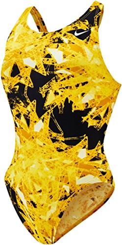 Femmes Gemstone Fastback Tank Maillot de bain 38 Varsity Maize
