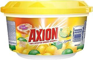 Axion Lavatrastes en Pasta, lima y limón, 100% efectivo arrancagrasa, 425 g