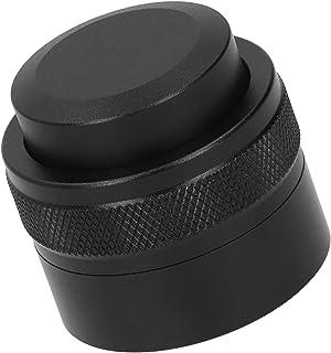 滑り止めハンドルの絶妙な外観で調整可能な深さ家庭、オフィス、商業用のコーヒー愛好家のための耐久性のあるパウダーハンマーコーヒーディストリビューター(black)