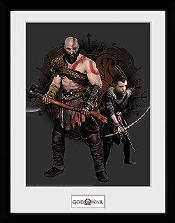 GB eye LTD, God of War, Kratos and Atreus, Framed Print 30x40cm, Wood, Various, 52 x 44 x 3 cm