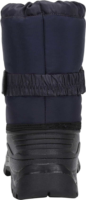 Botas de Nieve para Unisex-ni/ños Zapatos Invierno Forrados de Piel Botas Ni/ñas Impermeables Calientes y Antideslizante