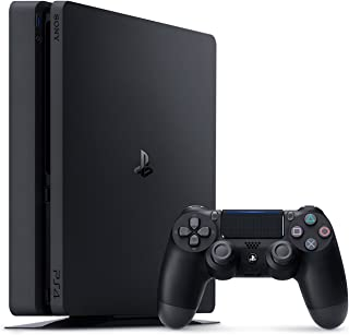PlayStation 4 Slim 1TB Console - Black (Renewed)