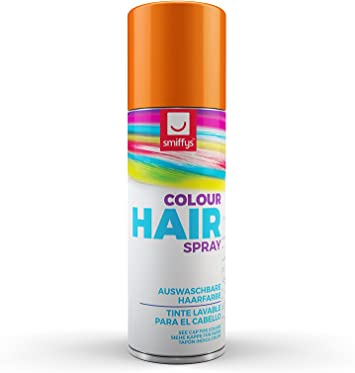 SmiffyS 052O Spray De Color Para Pelo, Naranja