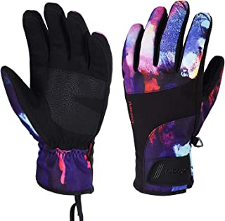 Men Women SKi Bicycle Gloves Waterproof Warm Non-Slip Full Finger Motorcycle Outdoor Gloves