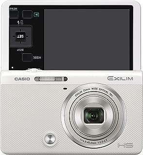 Casio EXILIM EX-ZR50 (White) EX-ZR50WE High Speed Digital Camera - International Version (No Warranty)