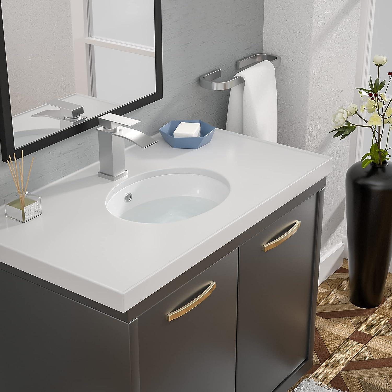 Buy Undermount Bathroom Sink Oval Loymey 16x13 Bathroom Sink Pure White Oval Porcelain Ceramic Lavatory Vanity Vessel Sink Bowl Basin Online In Indonesia B08zdcl4qd