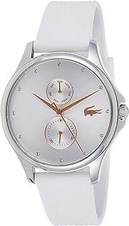 Lacoste Womens Quartz Wrist Watch, Analog and Silicone- 2001023