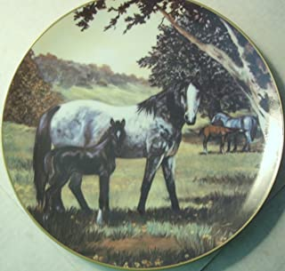 Violet Parkhurst Country Days Collector Horse Plate