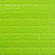 con Parte Trasera Adhesiva de Vinilo de PVC SOULONG Papel Pintado 3D de ladrillo de Soulond para decoraci/ón de Pared de sal/ón o Dormitorio