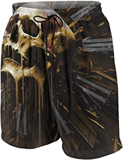 PANKAO Among Us Imposter Games Anime Men Novelty Quick-Drying Beach Shorts