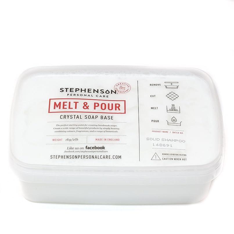 家主メッセンジャーモロニックMelt and Pour Soap Base - Solid Shampoo SLS FREE - 1Kg