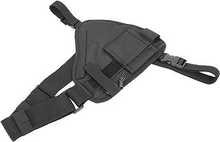 BOLORAMO Sac de Gilet de Talkie-walkie, Sac de Talkie-walkie étanche largement Applicable Portable pour la randonnée