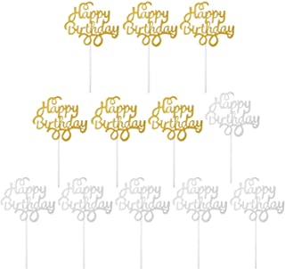 12 بسته تزیینات جشن تولد کیک تولدت مبارک