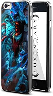 Luxendary LUX-I6PLCRM-ALIEN1 Futuristic Alien Creature Design Chrome Series Case for iPhone 6/6S Plus