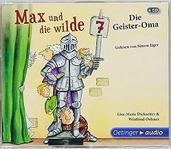 Max und die Wilde Sieben. Die Geister-Oma (3CD): Band 2, Gekürzte Lesung, 210 Min.