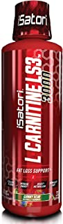 iSatori L-Carnitine LS3 Concentrated Liquid Fat Burner And Metabolism Activator - Fat Loss For Health And Fitness - Keto Friendly Weight Loss - Stimulant Free - Gummy Bear 3000mg (32 Servings)