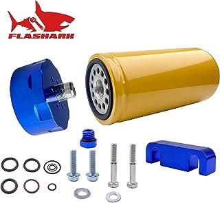 Tasan Racing Universal Aluminum 60mm Car Fuel Pump Fuel Filter Mounting Tube Clamp Mount Kit Blue