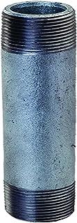 Everflow Supplies NPGL3012 30,5 cm długa ocynkowana stalowa złączka do sutków o średnicy nominalnej 7,6 cm