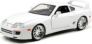 Jada Toys Fast & Furious 1995 Toyota Supra 1:24 Diecast Vehicle, White