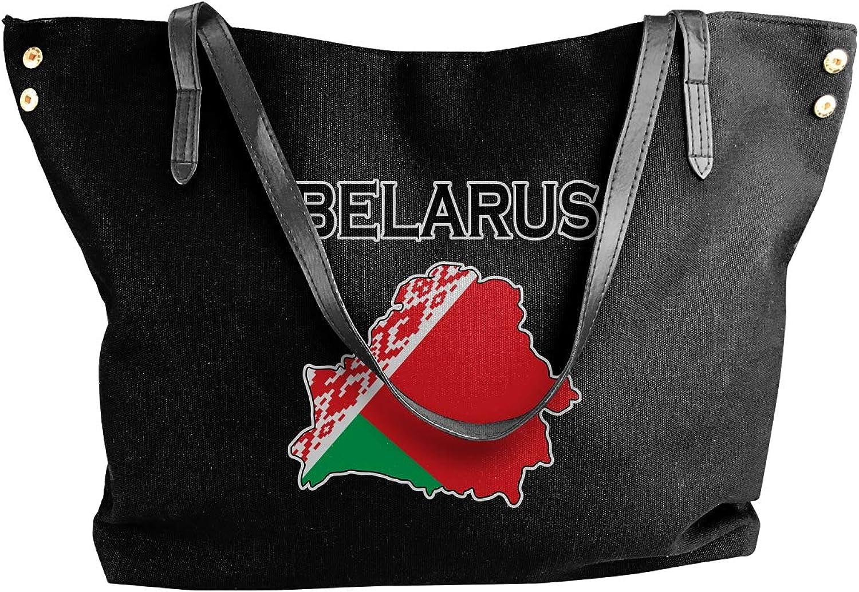 Belarus Flag-1 Women'S Casual Canvas Handbag For Work Handbag