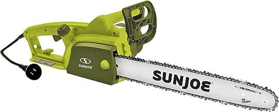 Sun Joe SWJ701E 18-inch 14.0 Amp Electric Chain Saw with Kickback Safety Brake