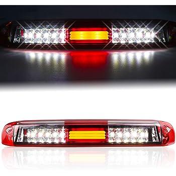 Amazon Com Sppc Red Clear Led 3rd Brake Lights For Silverado Sierra Automotive