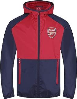 Arsenal Football Club Official Soccer Gift Boys Shower Jacket Windbreaker